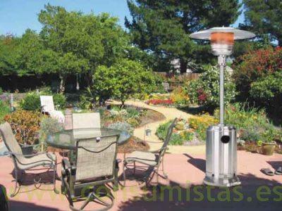 Chimenea estufa a gas para exteriores y jard n consumistas for Estufas de jardin