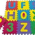 Alfombra FOAM multicolor, un juego de niños