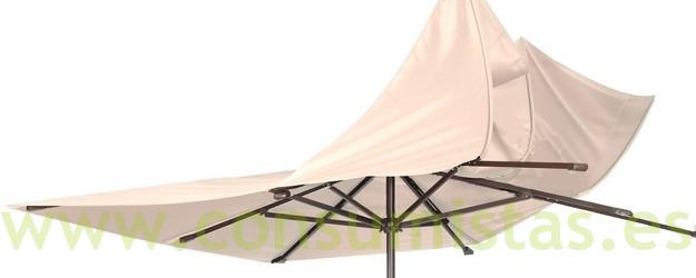 Sombrilla parasol anti viento consumistas - Pie para sombrilla ...