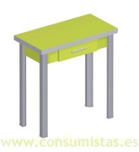 Mesa plegable tipo libro, ideal cocina | Consumistas