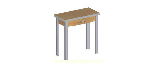 Mesa plegable tipo libro ideal cocina consumistas - Mesas de cocina tipo libro ...